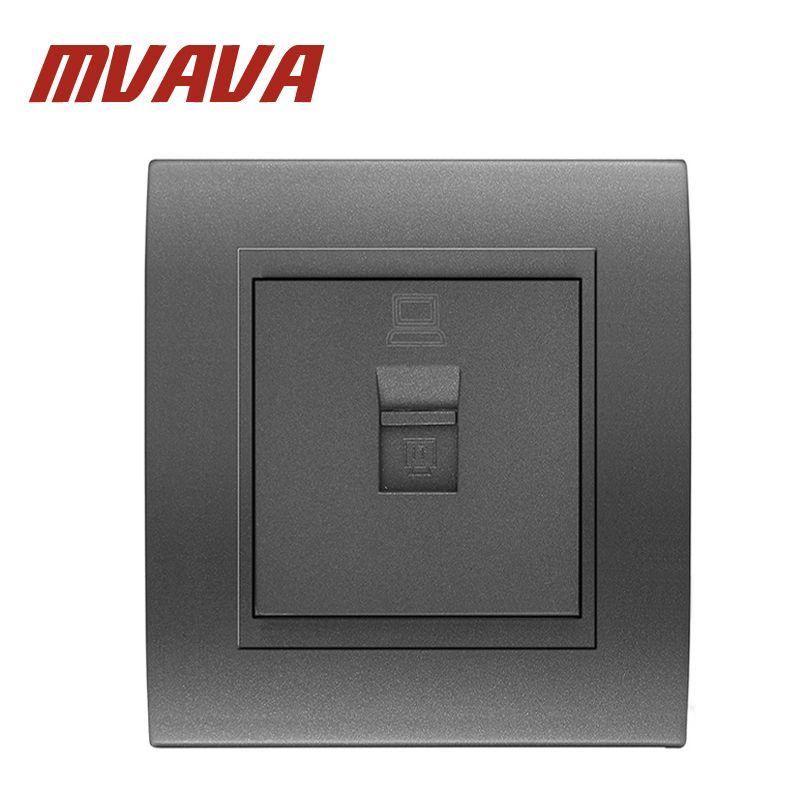 MVAVA Universal Computer Wall Socket Network Ethernet LAN RJ45 ...