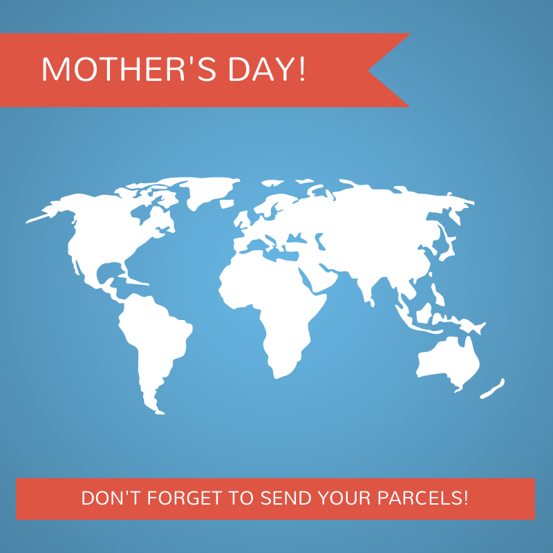 Don't forget international Mother's Day this Sunday!