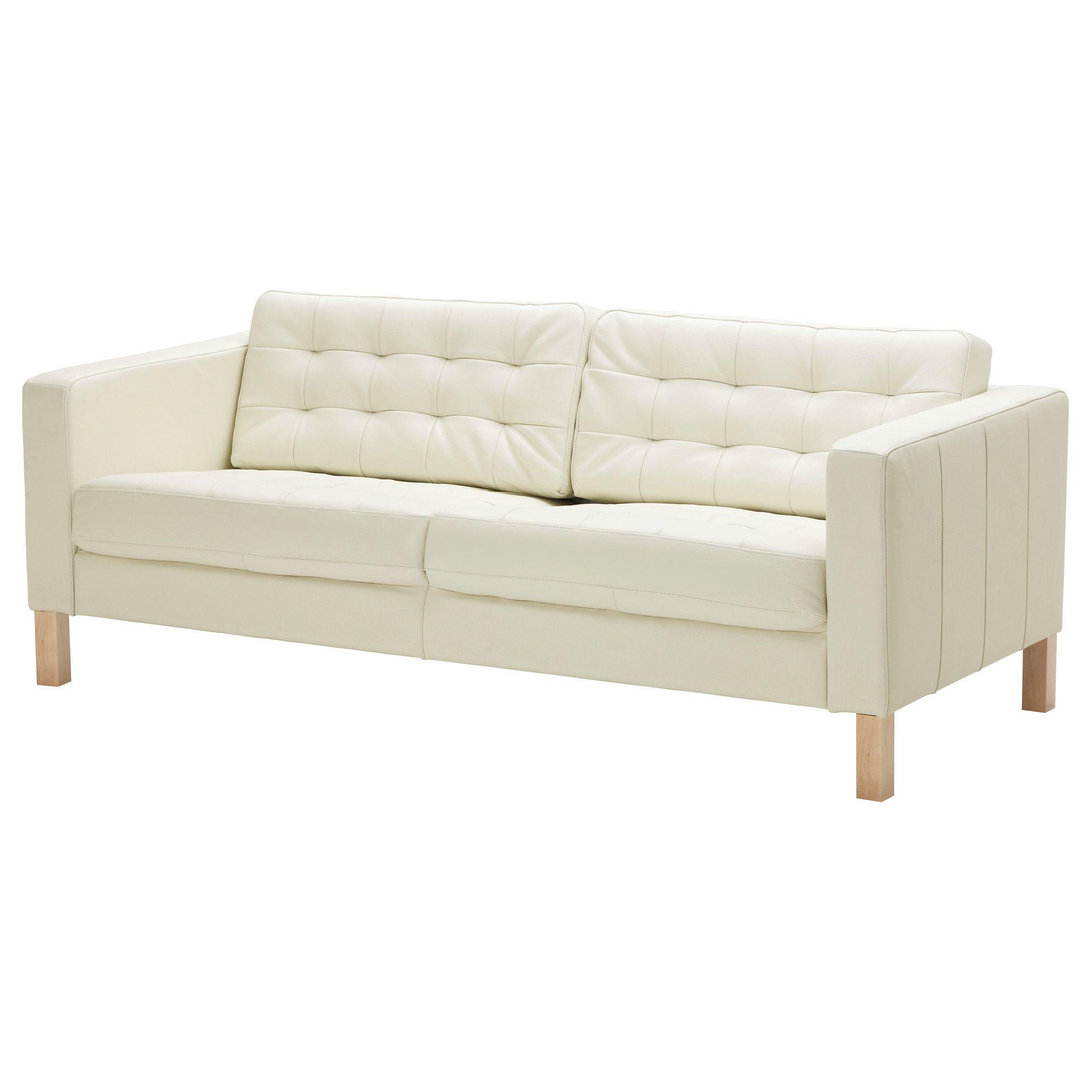 KARLSFORS Canapé Places CapitonnéGrann Blanc IKEA - Canapé 3 places pour vente decoration