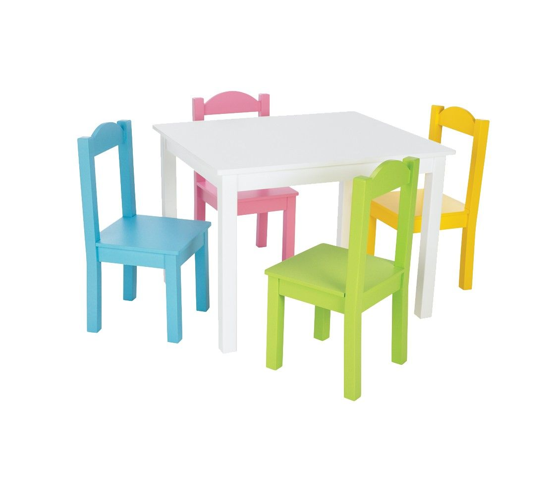 Tot Tutors Table Kids Table Chairs Wooden Table Chairs