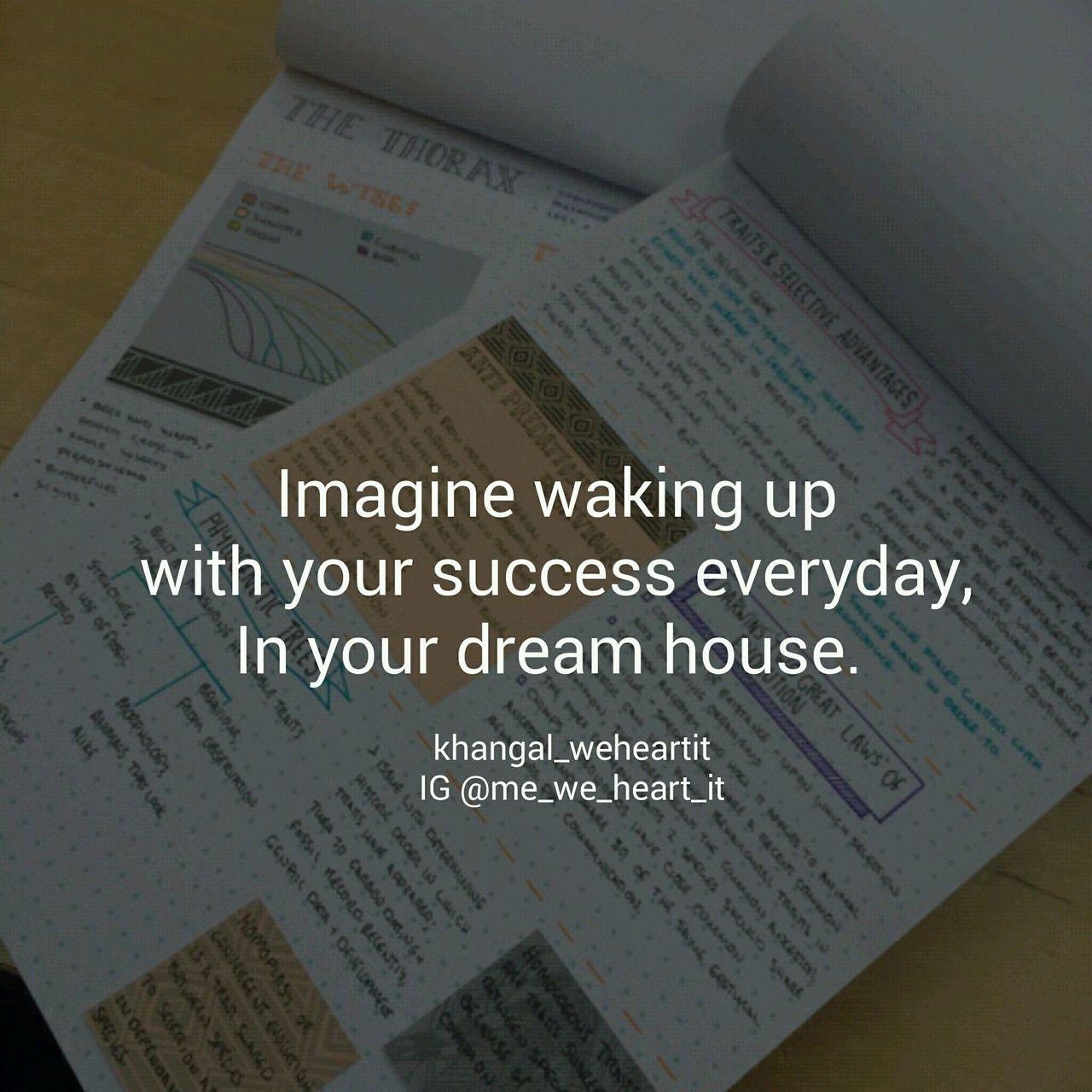 Dream house! #Motivation  Study motivation quotes, Study quotes