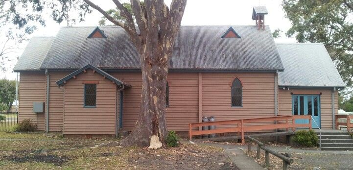 Old church ..Huskisson NSW