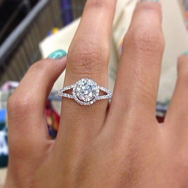 The 15 Types of Engagement Ring Selfies
