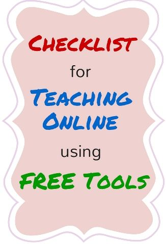 Tools For Delivering Lessons Online