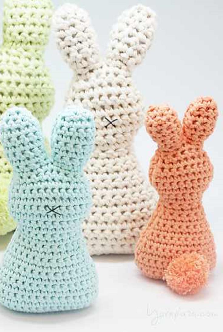Super-Cute And Super-Easy Easter Bunny With Pom Pom | Cosas de bebe ...