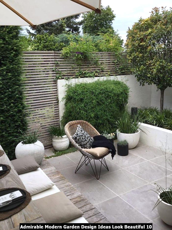 Admirable Modern Garden Design Ideas Look Beautiful Pimphomee Modern Garden Design Modern Garden Backyard Garden Design