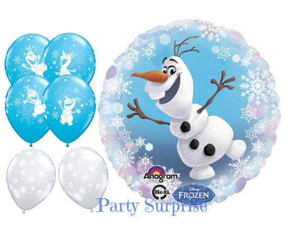 Frozen olaf balloon package party balloons by