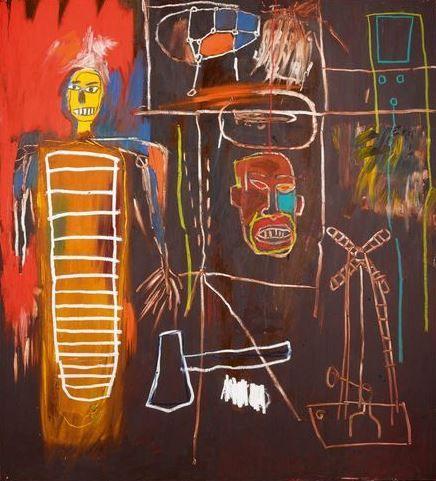 """Air Power"" by Jean-Michel Basquiat"