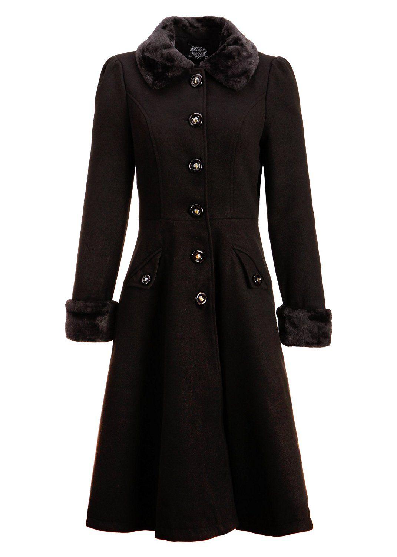 Amazon Com Women S Black Faux Fur Collar Vintage Dress Coat Winter Jacket Https Www Amazon Com Gp Product B01 Fur Coat Vintage Vintage Coat Vintage Dresses [ 1500 x 1071 Pixel ]