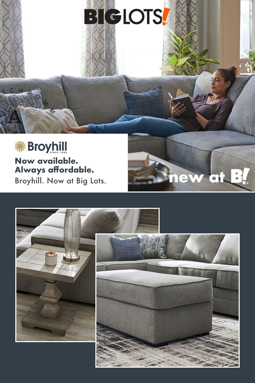 New at Big Lots! in 2020 Broyhill furniture, Broyhill