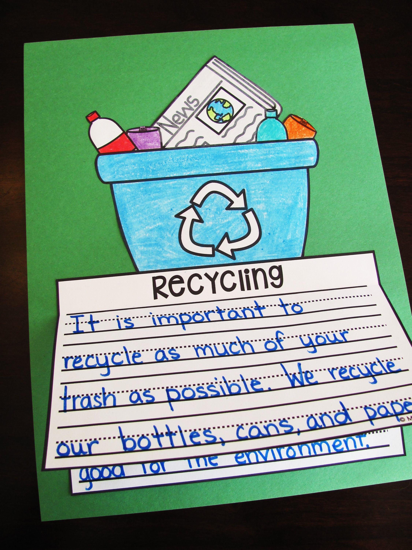 Earth Day Writing Crafts Bundle No Prep