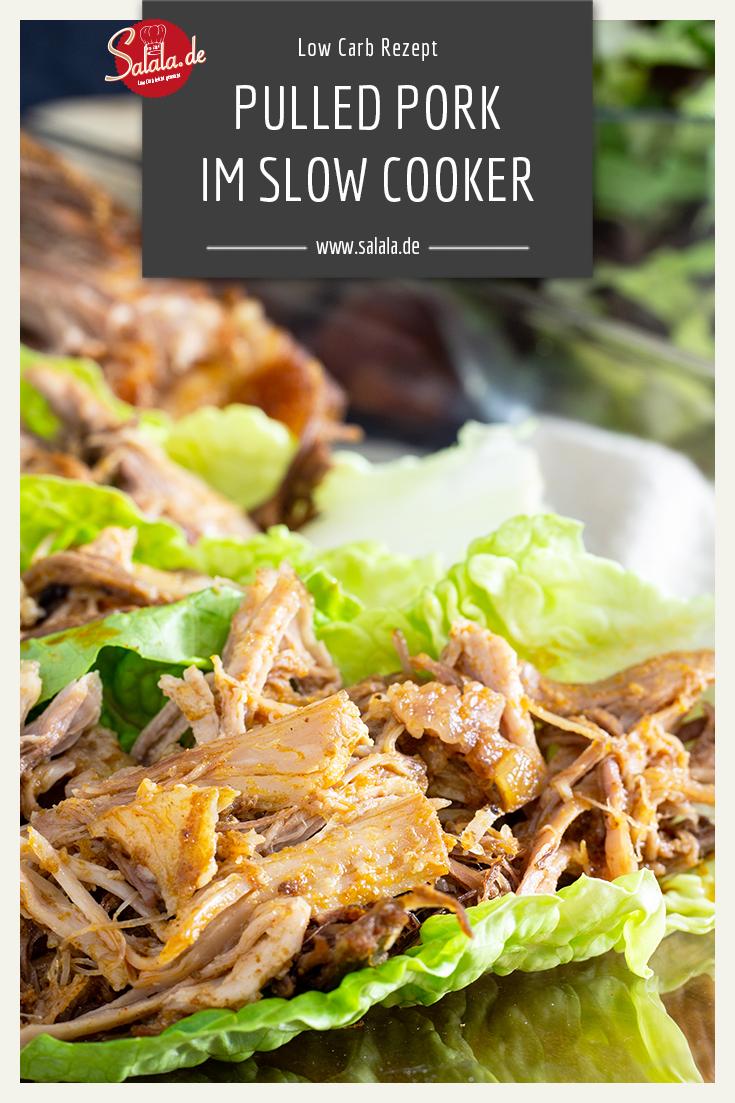 Pulled Pork - Slow Cooker statt Smoker | salala.de – Low Carb leicht gemacht