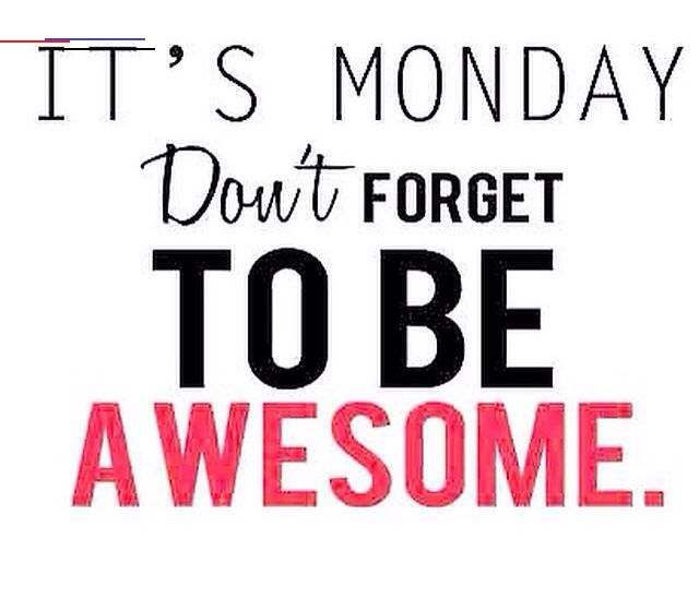 It's Monday!! Do you have your eating plan? Got your workouts planned?? If it get it done and go out...