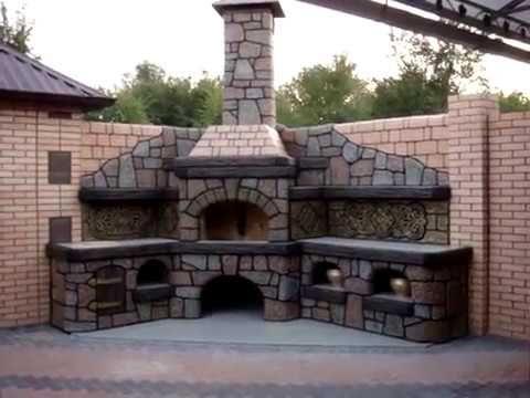 Печь бетон керамзитобетон паз гребень