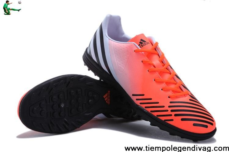 Cheap Discount Adidas Predator LZ TRX TF - Orange-Red-Black Soccer Boots On Sale