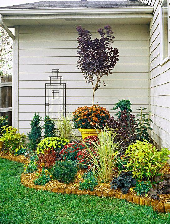 Plantas para jardines pequenos para casa jardines for Jardines pequenos de casas fotos