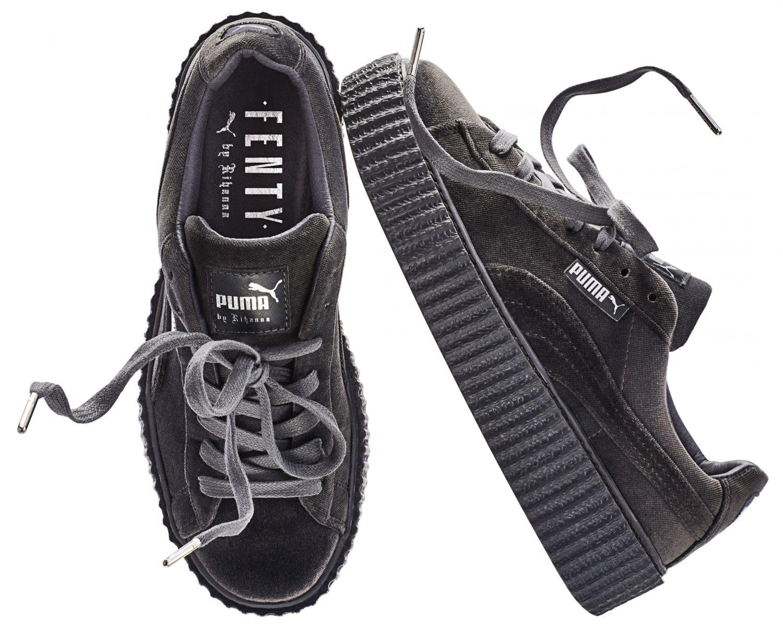 chaussure puma velour