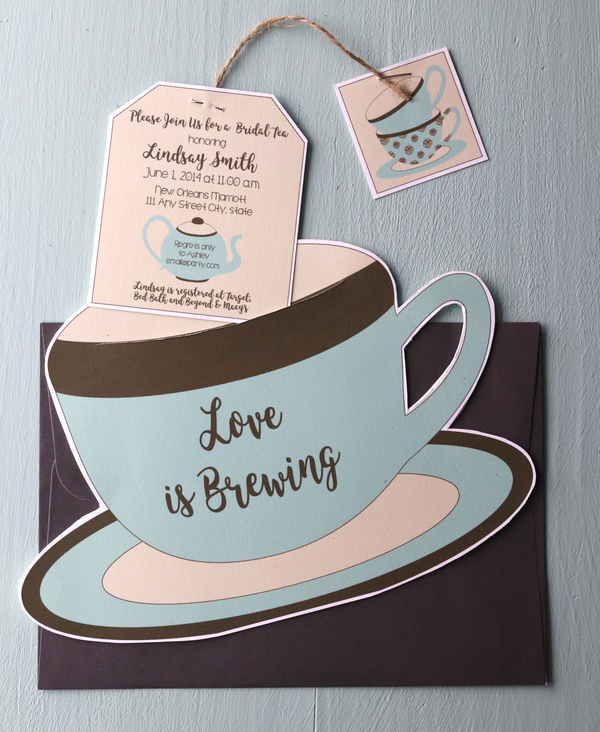 non traditional bridal showers tea party click through to find matching games favors thank you cards inserts decor and more