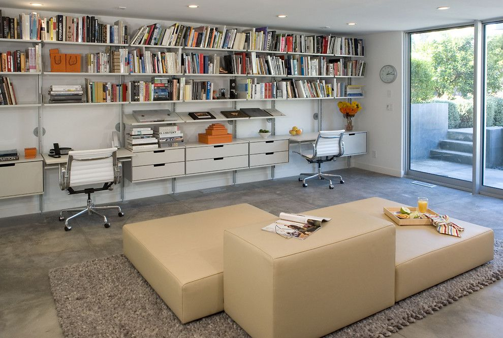 Elfa Shelving Home Office Modern With CategoryHome  OfficeStyleModernLocationLos Angeles