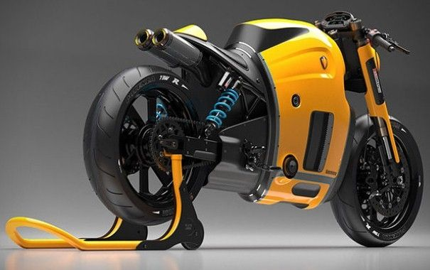 Koenigsegg motorcycle concept released by Burov Art