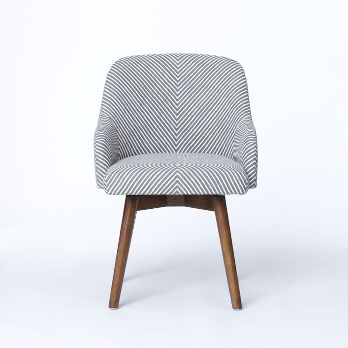 Saddle Swivel Office Chairs | Havenly $349