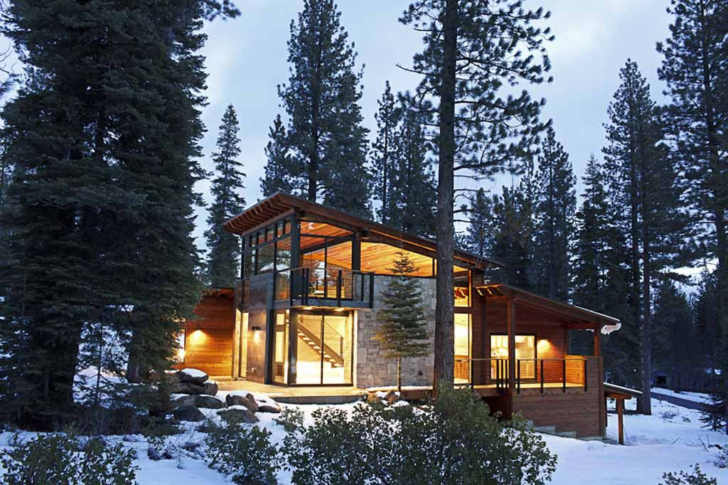 West Coast Modern | Modern mountain home, Architecture ...