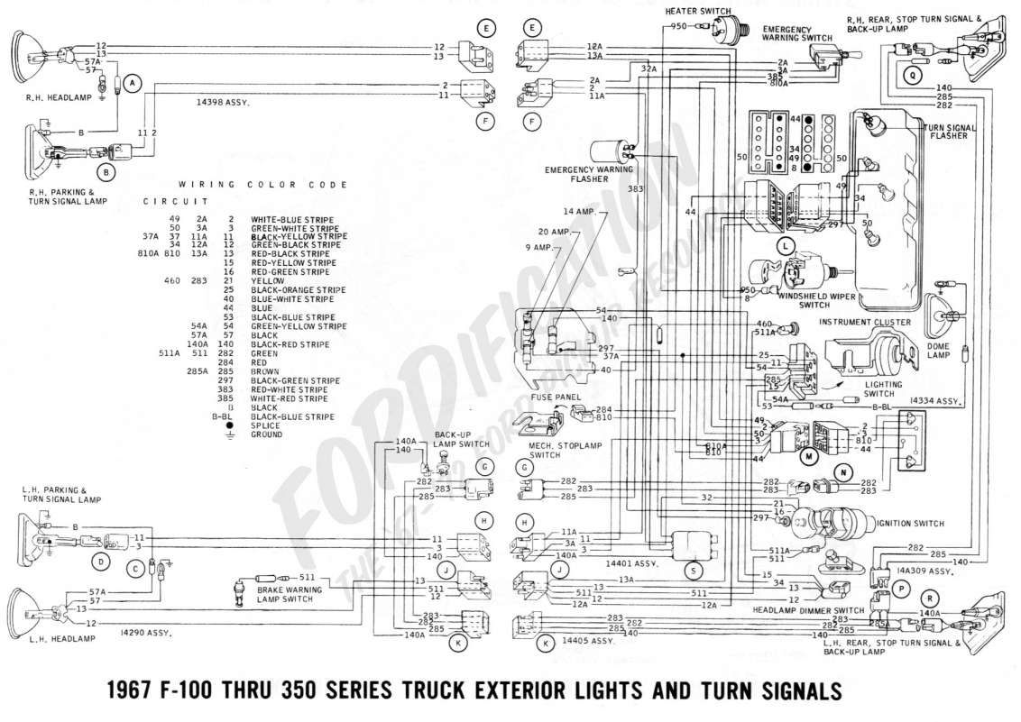 Ford Steering Column Wiring Harness