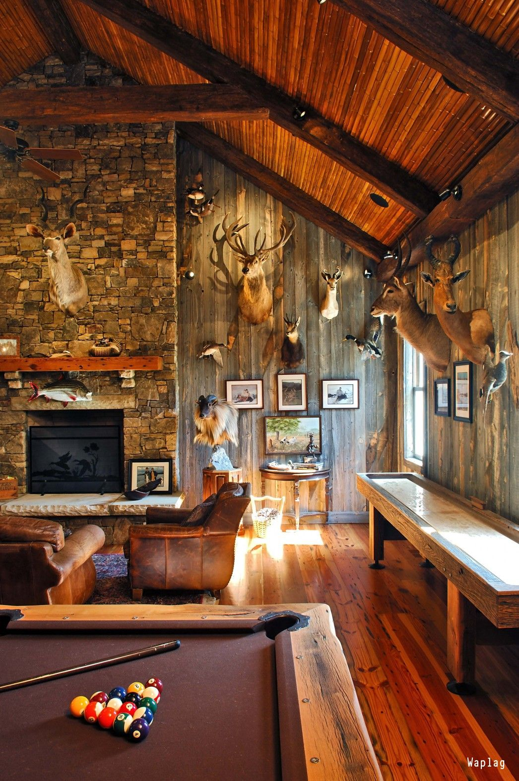 10 Must Have Items For The Ultimate Man Cave Rustic Man Cave