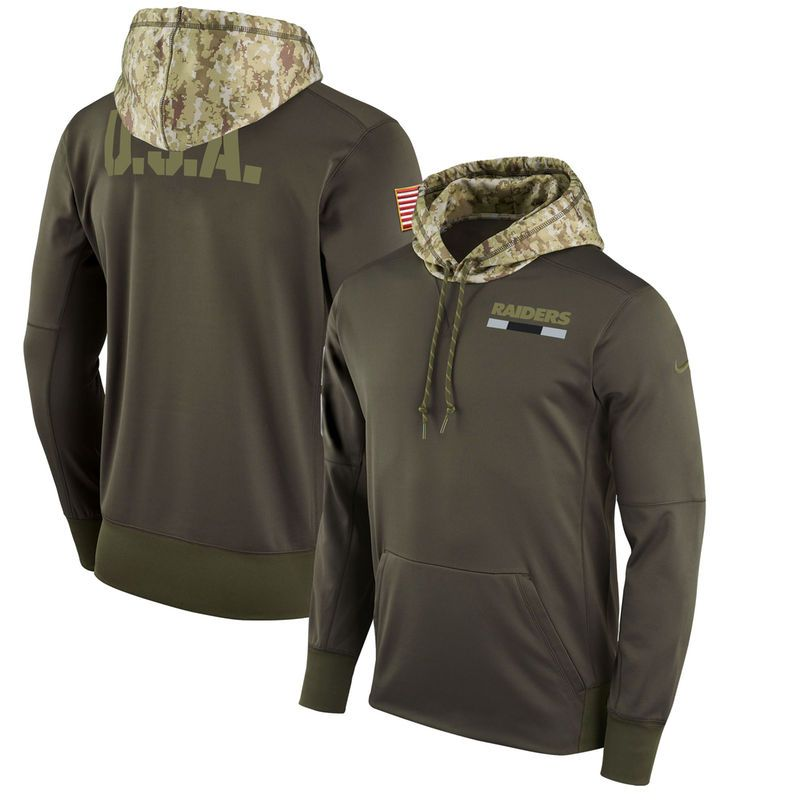 promo code 5be35 db904 Oakland Raiders Nike Salute to Service Sideline Therma ...