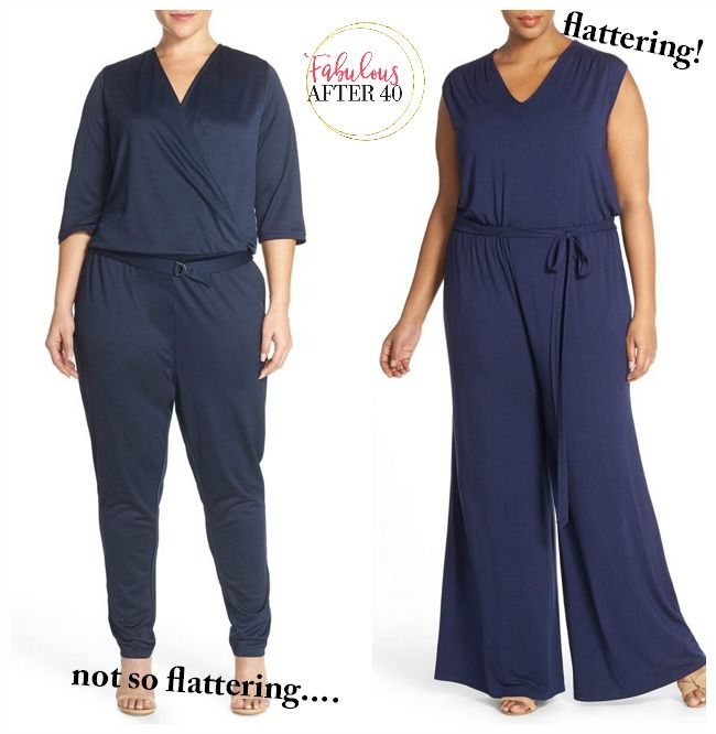 e4b1421215f How to Wear a Jumpsuit After 40 If You re Plus Size (And Look Like a Skinny  Minny!)