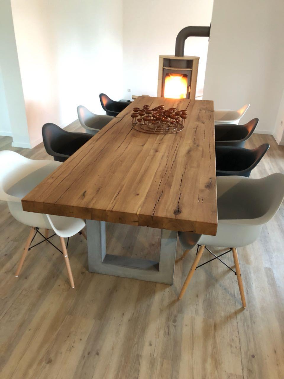 Massivholztisch Esstisch Holztisch Tisch nach Maß ...