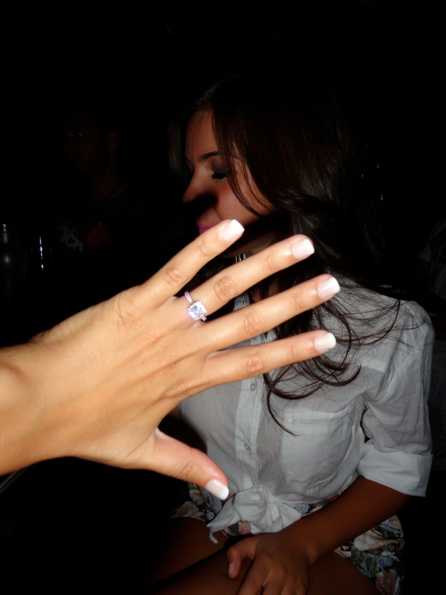 Tacori Engagement Ring 1 2 carat cushion cut VVS clarity and D
