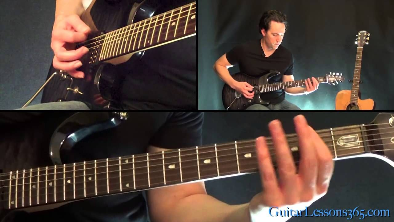 For Whom The Bell Tolls Guitar Lesson Metallica Instrumental