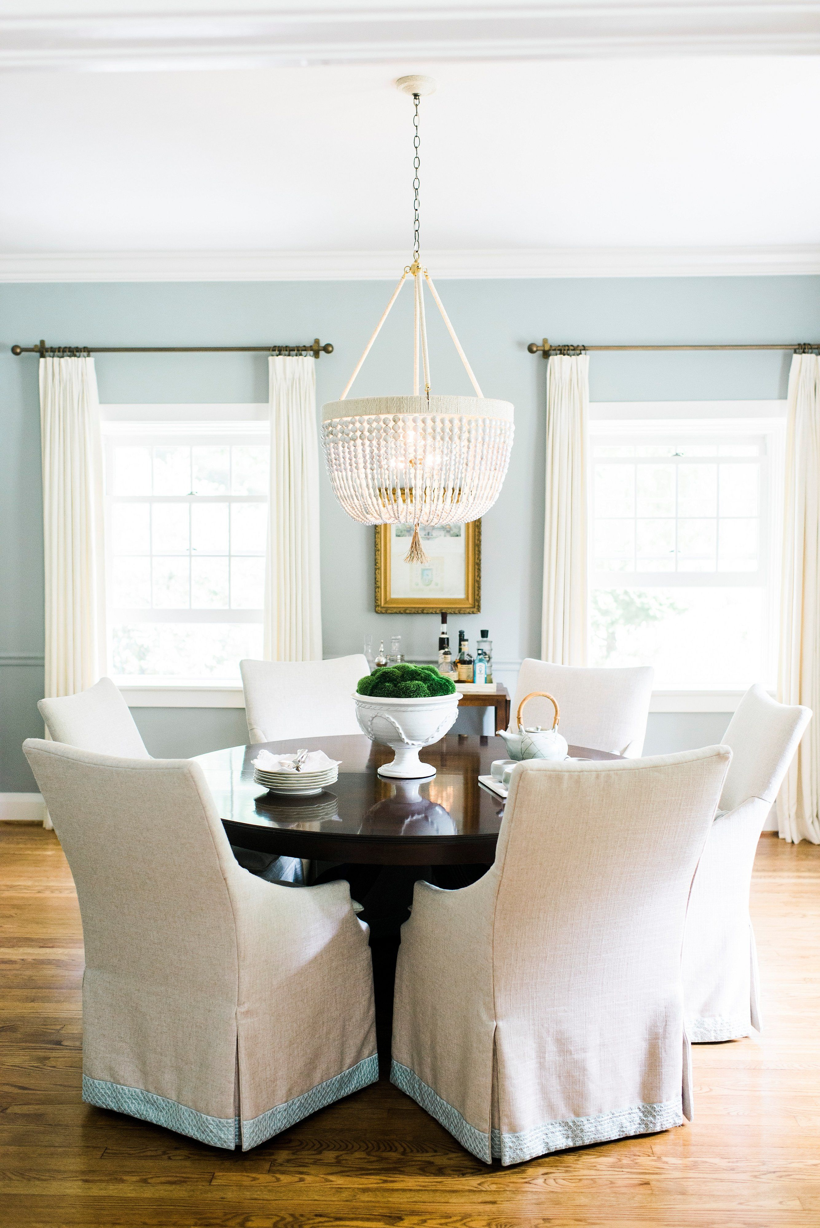 cottage dining rooms. Stephanie Gamble Interiors - Towson Cottage Dining Room Lee Industries Chairs Ro Sham Beaux Chandelier Rooms D