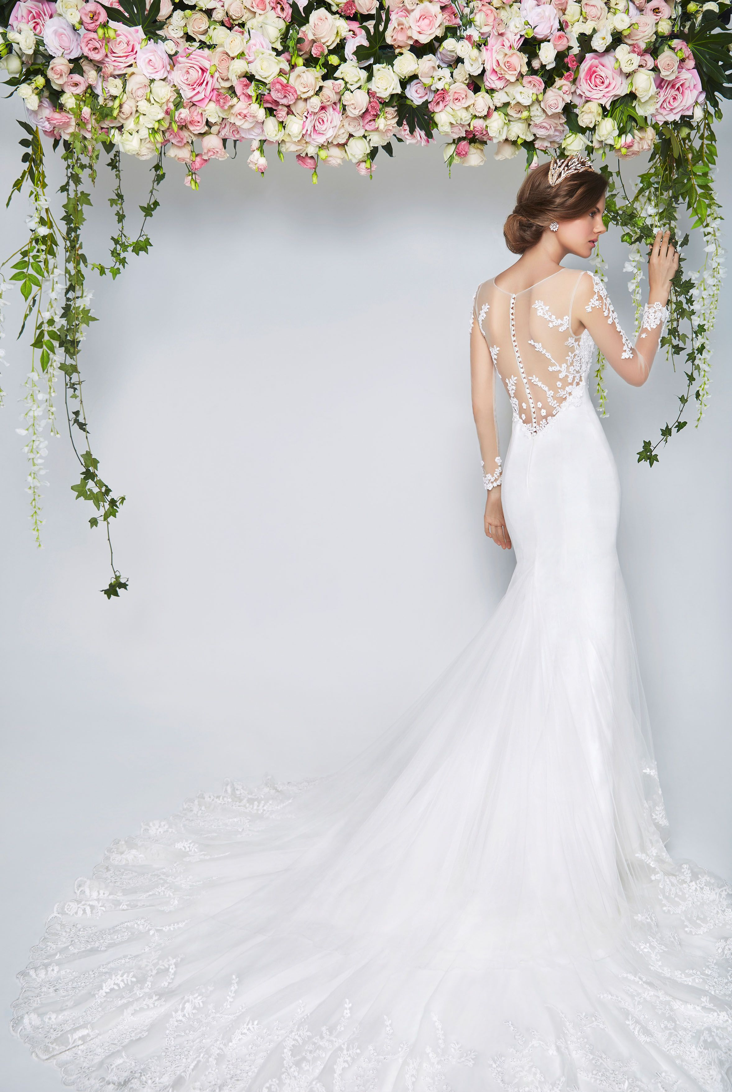 Wedding Dresses with Illusion Necklines. These dresses manage to be ...