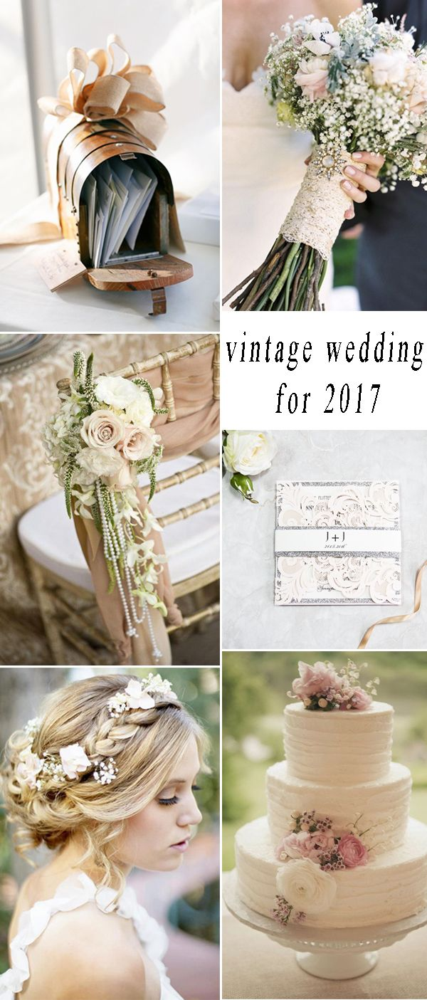 Top 7 Hot Wedding Themes Trends For 2017 Theme Ideas Vintage