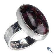 Ring Eudialyt, Gr. 57 | Großhandel Heilsteine, Mineralien-Handel Edelsteine, Großhändler Silberschmuck, Perlen Trommelsteine