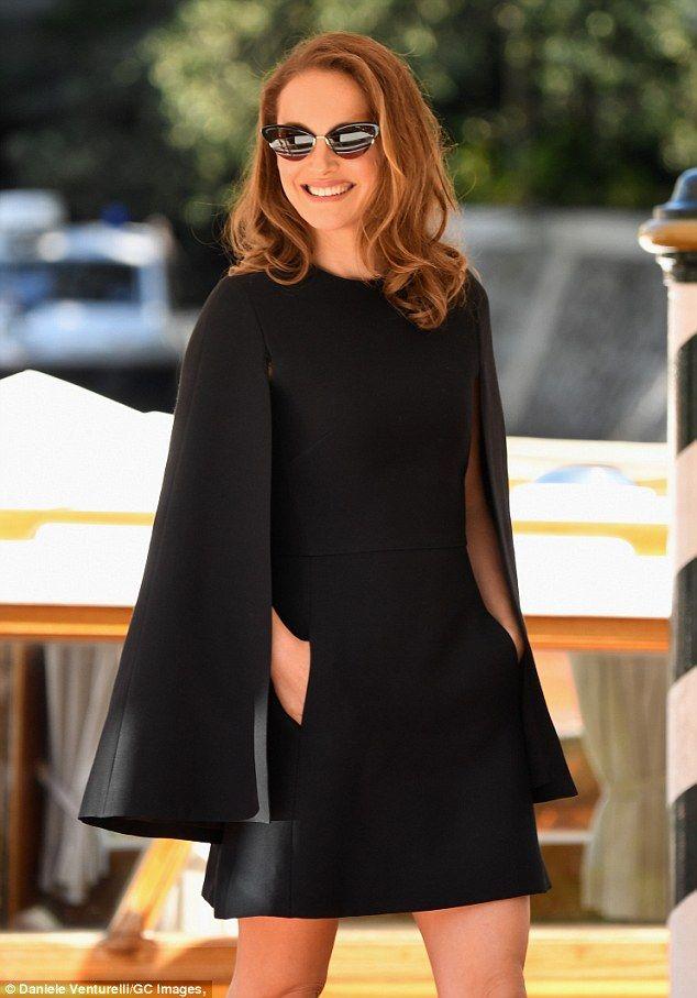 Natalie Portman exudes glamour in a minidress at Venice