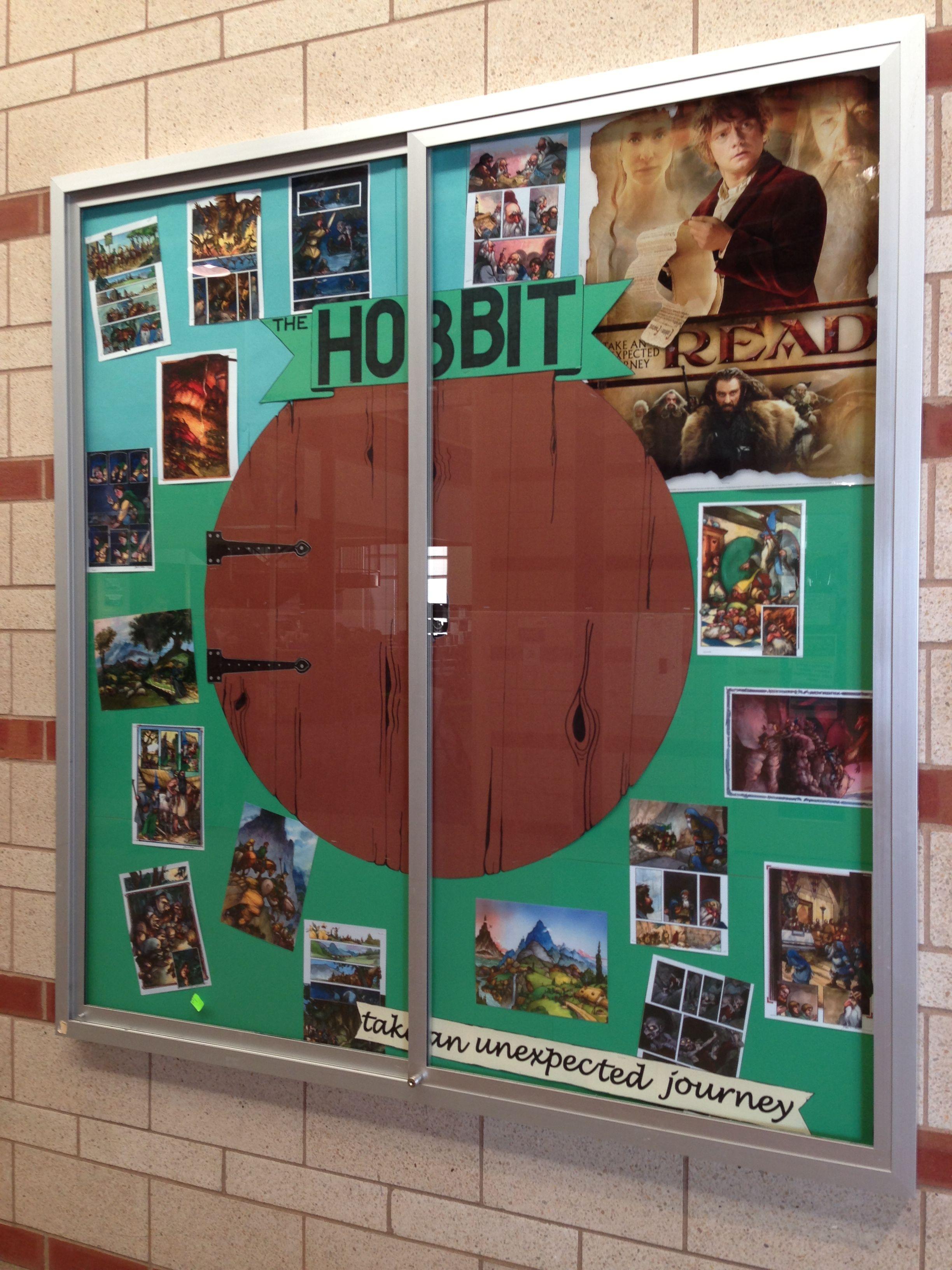 Hobbit Bulletin Board Created By Ms Eastman Chs Teen