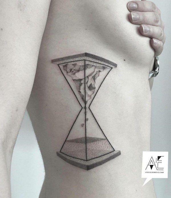 60 Hourglass Tattoo Ideas Tatuajes Abstractos Tatuaje