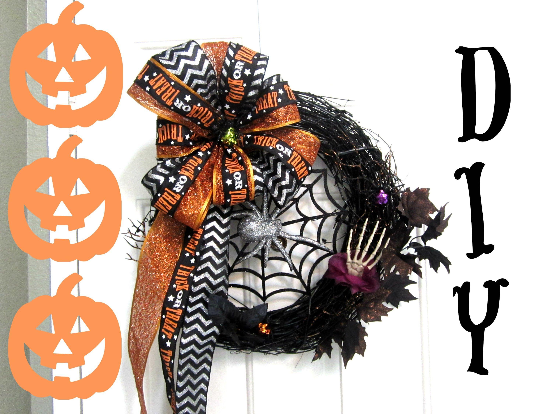 Diy halloween wreath - Diy Halloween Wreath