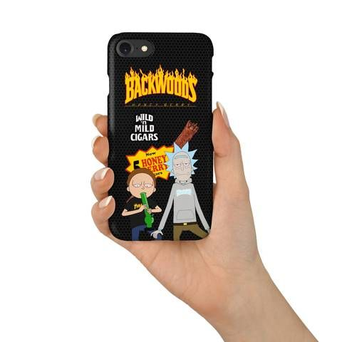 reputable site 05107 a6f8f Rick and Thrasher Backwoods Cigar Roll Up Phone Case | Fashionable ...