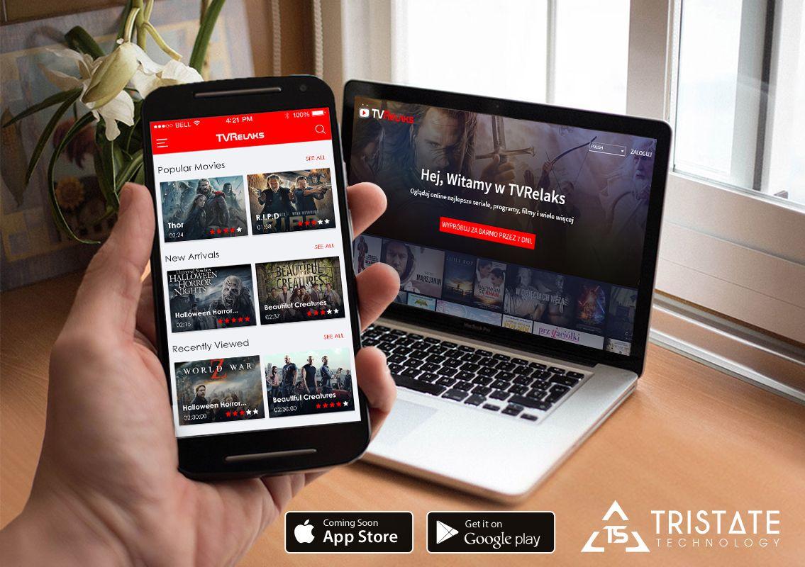 TVRelaks - Online video streaming app | Our Latest Work | Online
