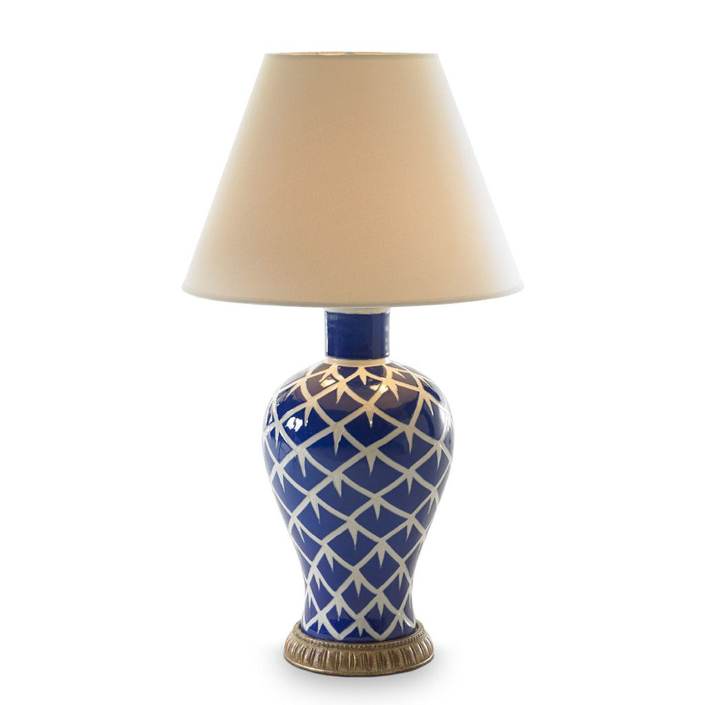 En Feather Lamp Blue Bunny Williams Homeanything And White Works