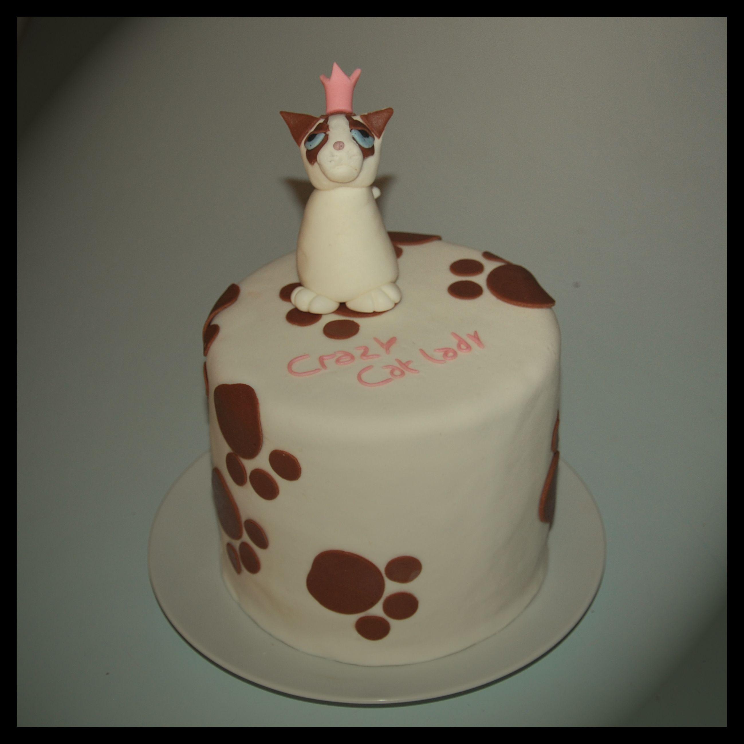 Crazy catlady cake