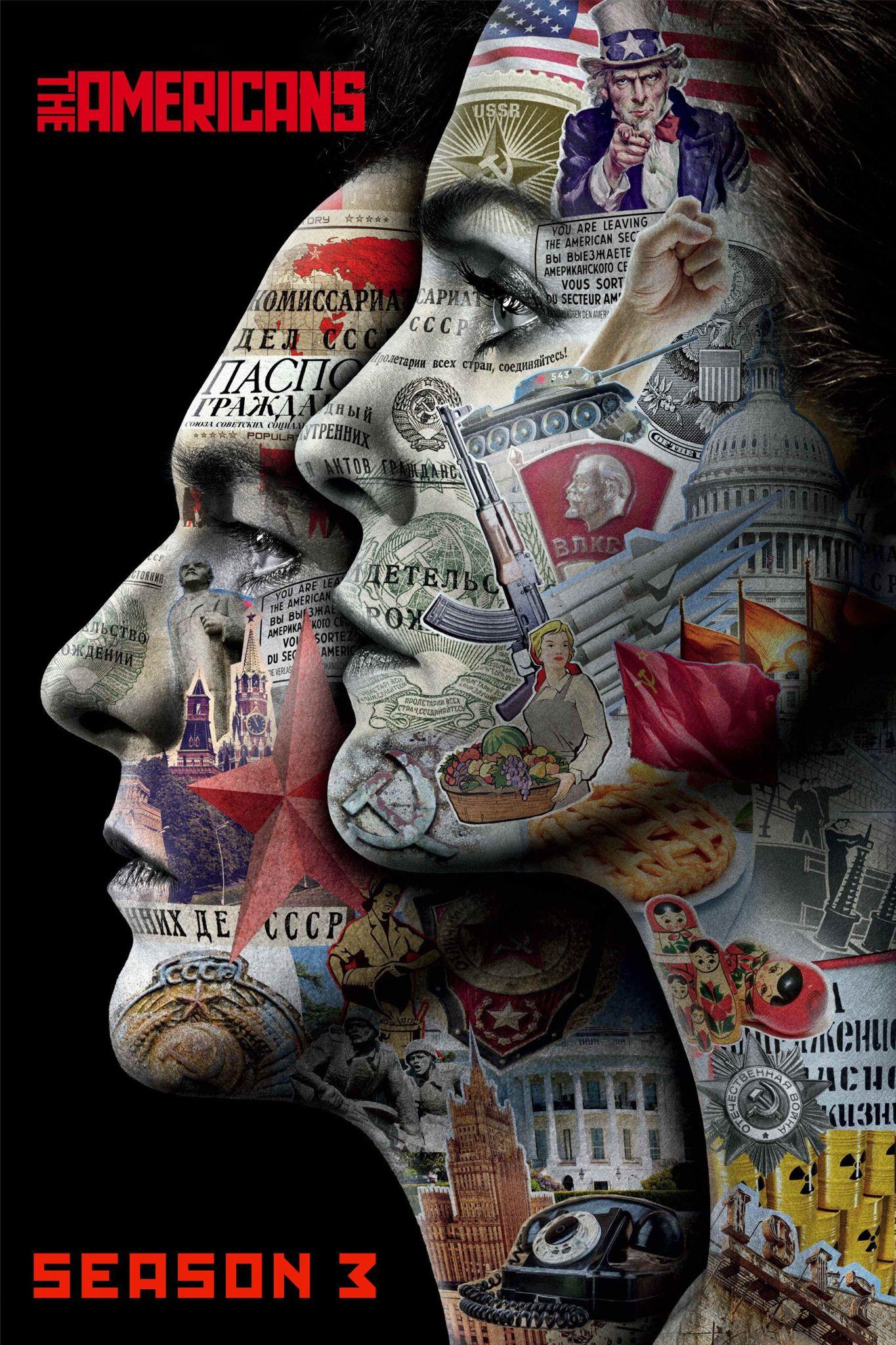 The Americans (2015) Season 3, 13 Episodes | Crime, Drama, Mystery | FX, Netflix | ジ・アメリカンズ シーズン3 全13話