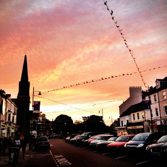 Tynemouth sunset