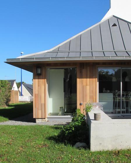 BOIS COMPOSITE DESIGN, Extension Bois, CONCARNEAU, 29900 - agrandissement maison bois prix m