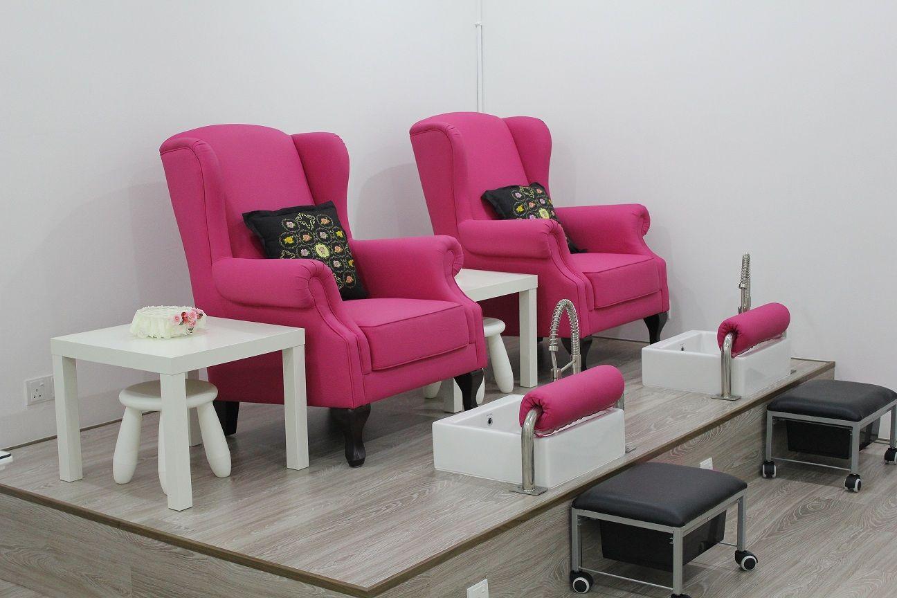Pedicure sofa pedicure sofa bench source quality thesofa for Nail salon benches