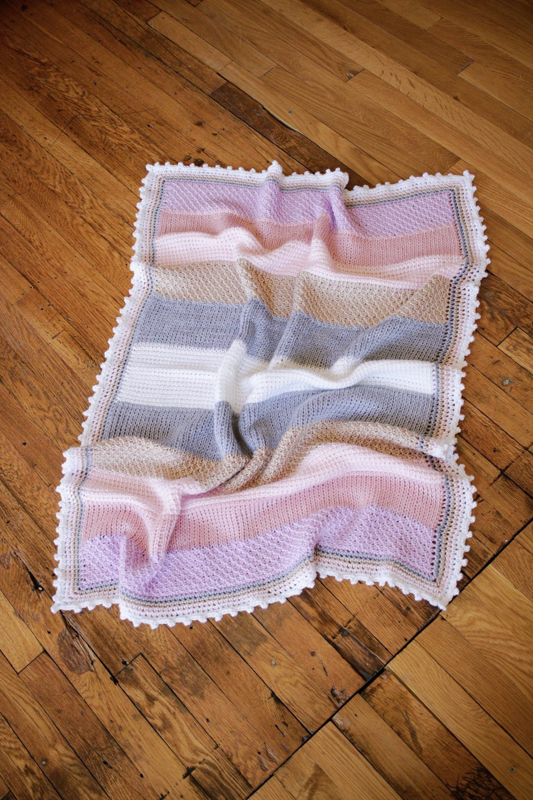 Sweet Stripes Baby Blanket, from | Crochet Patterns for ...